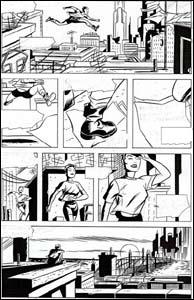 Página da novasérie da Mulher-Gato
