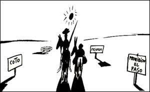 Don Quixote, arte de Chumy Chumez