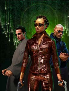 Matrix, arte de Greg Horn