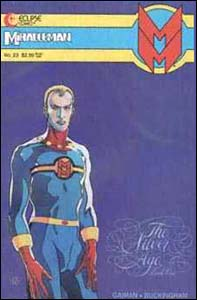 Miracleman #23, roteiro de Neil Gaiman, capa de Barry Windsor-Smith