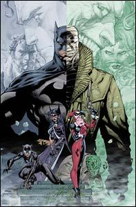 Batman, arte de Jim Lee