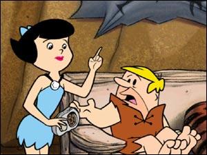 Betty ajuda Barney com o controle remoto