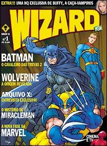 Capa da nova Wizard #1