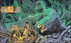 Página de A Saga dos Cavaleiros Dragões