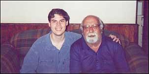 Samir Naliato (a esquerda) e Flavio Colin