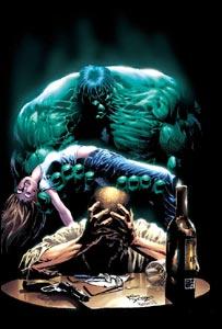 Hulk, de Mike Deodato, cores de Hermes T.