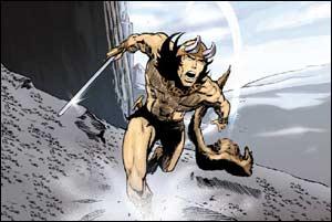 Conan, arte de Barry Windsor-Smith