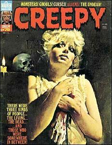 Creepy #79, arte de Sanjulian