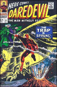 Daredevil #21, arte de Gene Colan