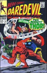 Daredevil #30, arte de Gene Colan