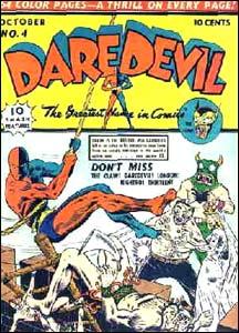Daredevil #4, de 1940