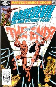 Daredevil #175, de Frank Miller