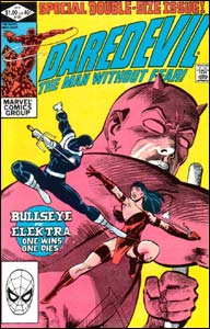 Daredevil #181, onde Frank Miller mata Elektra