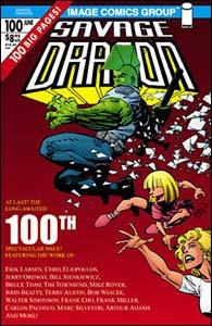 Reimpressão de Savage Dragon #100