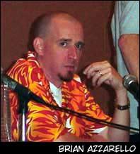 Brian Azzarello, indicado como Melhor Escritor