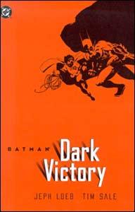 Batman: dark Victory, indicada na categoria Melhor Graphic Novel Republicação