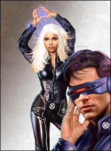 X-Men, o filme, arte de Greg Horn