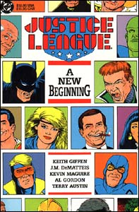 Justice League: A New Beginning