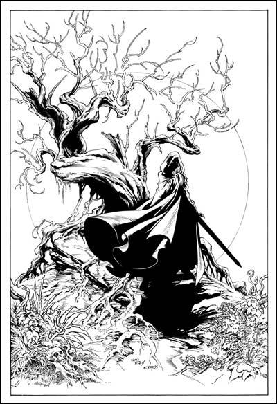 Lady Death, arte de Ivan Reis e Marcelo Campos