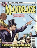 mandrake - Coleção King Komix #3