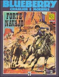 Graphic Novel #21 - Blueberry em Forte Navajo