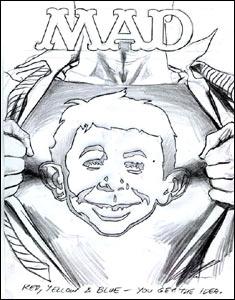 Capa da revista Mad
