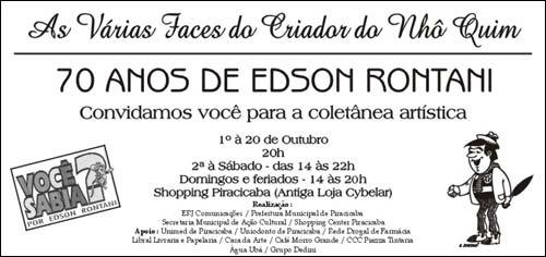 Exposição Edson Rontani