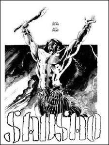 Sansão, desenho de Bené Nascimento