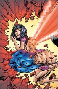 Superman #188, arte de Tom Raney