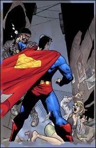 Superman Birthright, arte de Leinil Yu