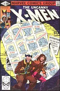 The Uncanny X-Men #141, um dos clássicos produzidos pela dupla Claremont/Byrne, com arte-final de Terry Austin