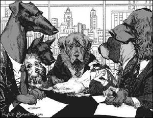 Ilustração de Cães