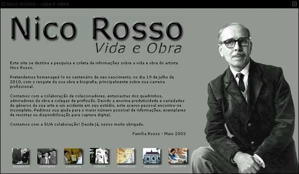 Site de Nico Rosso