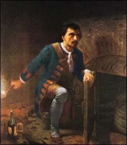 Pietro Micca num quadro