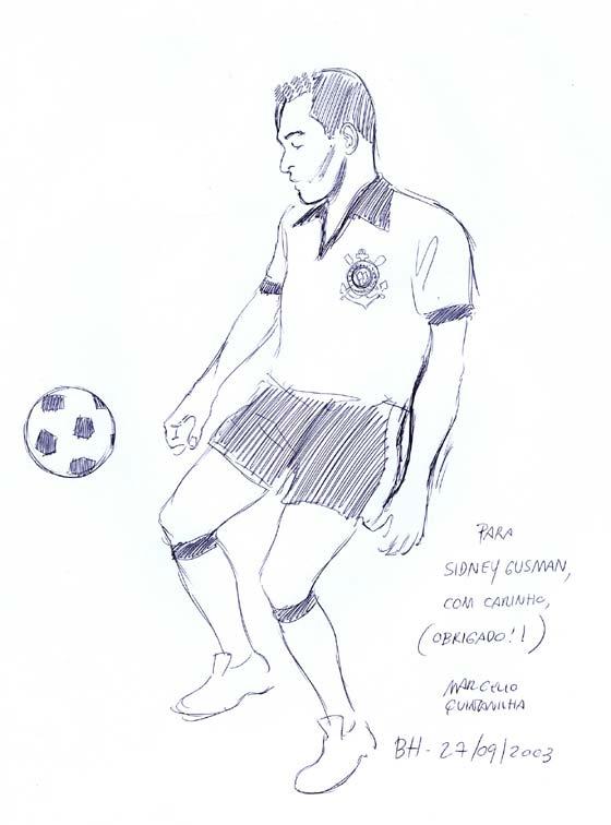 Autógrafo para Sidney Gusman, de Marcello Quintanilha