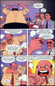 Nas Ruas, publicada em Imagine Superman de Stan Lee