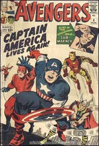 Avengers $4 - O retorno do Capitão América