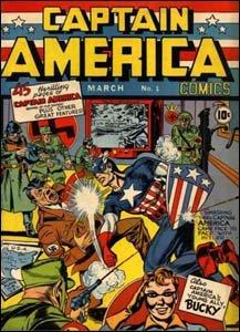 Captain America #1 - Capitão América esmurra Hitler