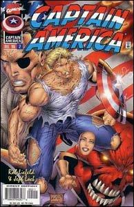 Captain America Vol. 2 #1 - Rob Liefeld reformula o Capitão América para o evento Heróis Renascem