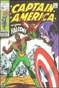 Captain America #177 - O Falcão se torna seu novo parceiro