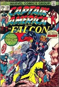 Captain America #180 - Steve Rogers se torna o Nômade
