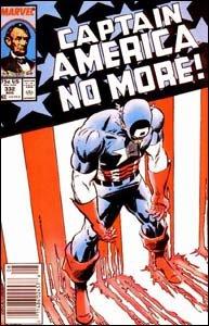 Captain America #332 - A Comissão força Steve Rogers a entregar seu cargo