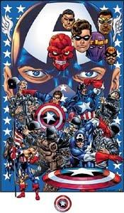 Capitão América e personagens coadjuvantes