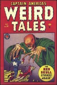 Captain America's Weird Tales #74 - O Sentinela da Liberdade enfrenta o Caveira Vermelha