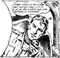 Capitão Brasil, arte de Nico Rosso