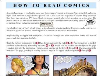 Material da editora americana CrossGen, produzido para as escolas