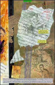 Arte de David Mack para Daredevil #51