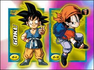 Cards Dragon ball GT, da Abril