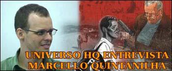 Universo HQ entrevista Marcello Quintanilha