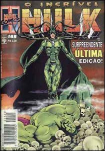 O Incrível Hulk #165, da Editora Abril